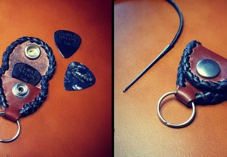 Guitar pick keyfob
