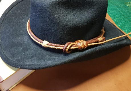 Leather Hatband