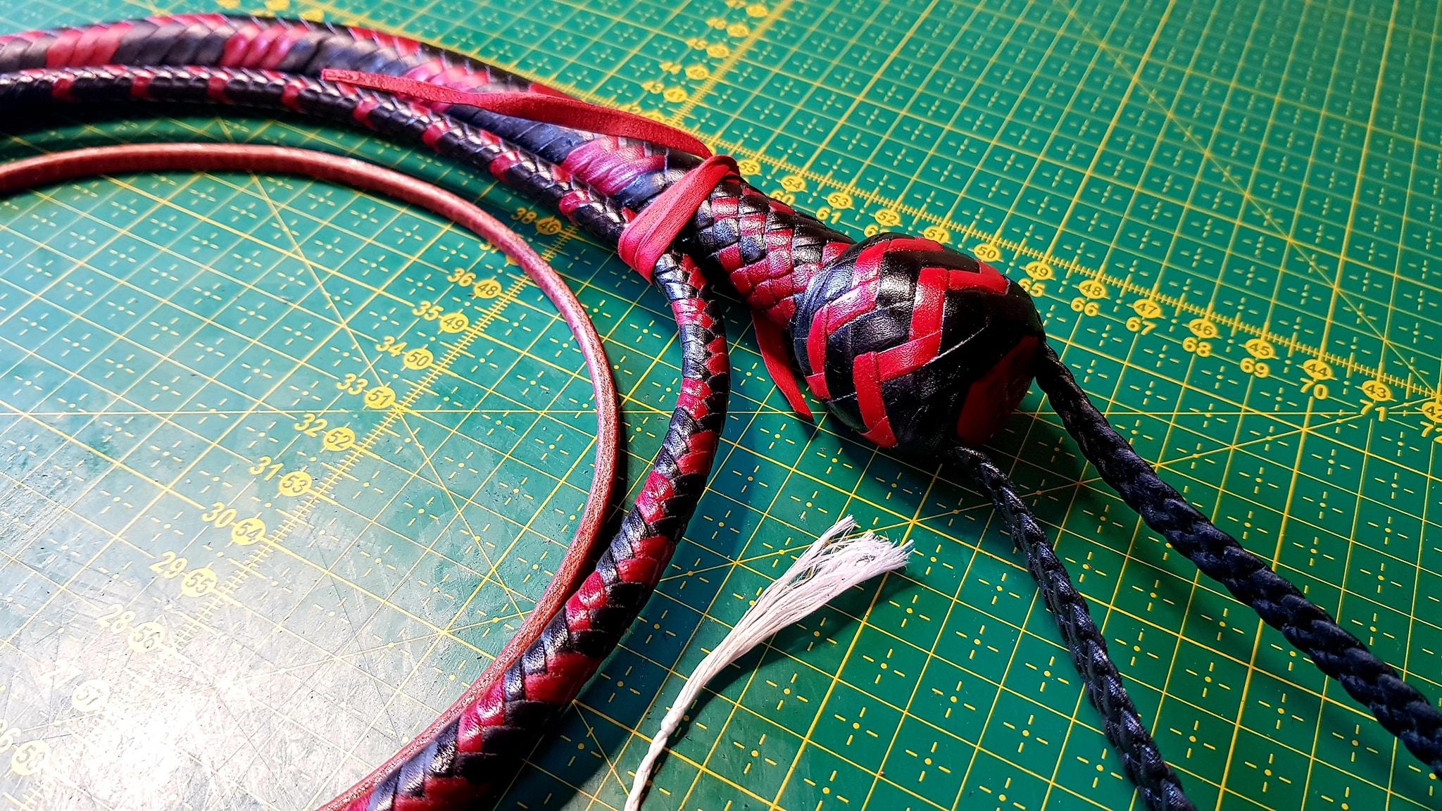 Snake red black