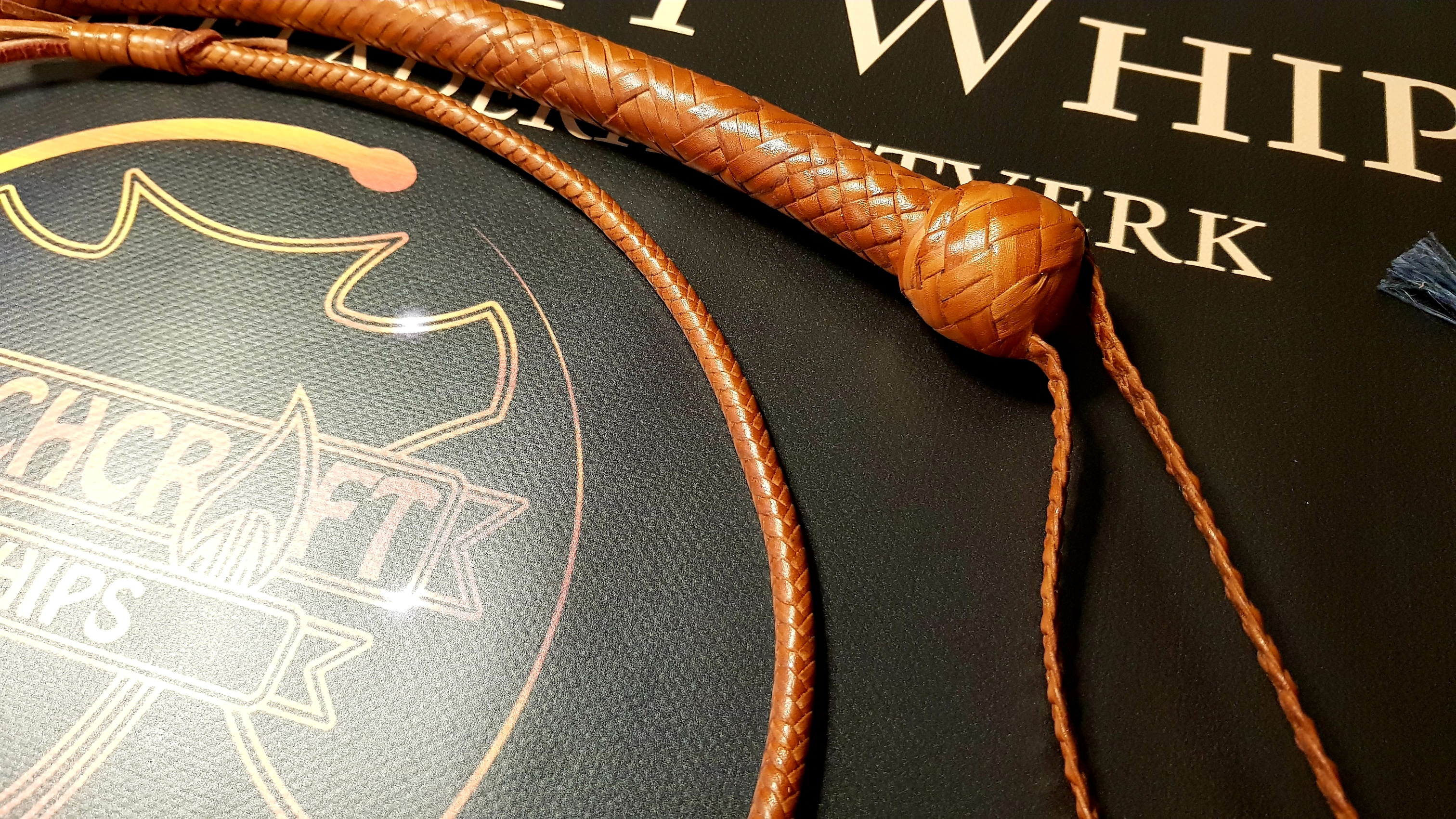 Turks head knot on Snakewhip