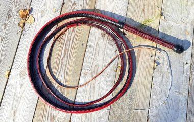 Black Red Bullwhip