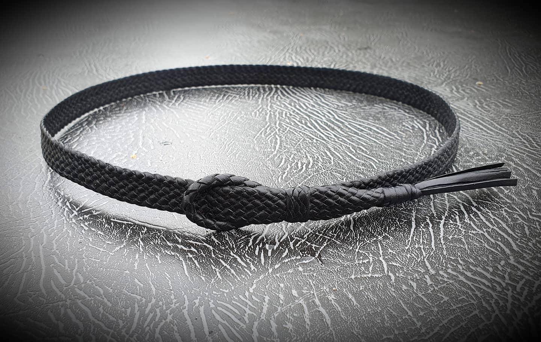 Leather hatband
