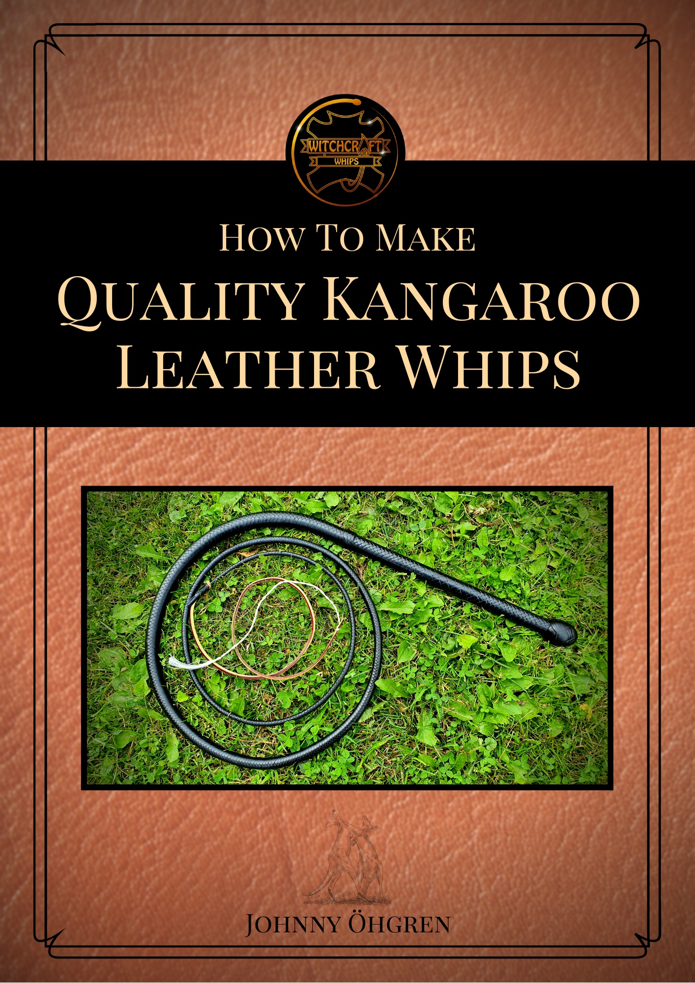 How to make quality kangaroo leather whips