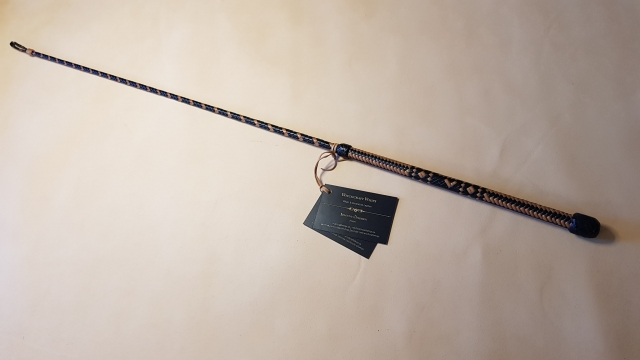 Leather riding crop